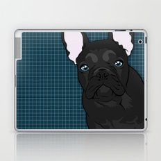 Black Frenchie Laptop & iPad Skin