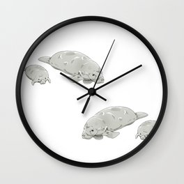 Mother's Nature Wall Clock