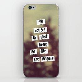 Her Life iPhone Skin