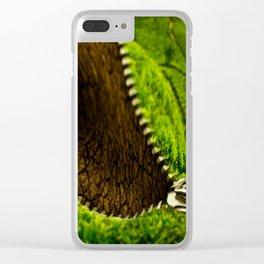 Landscape Patent Clear iPhone Case