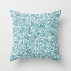Pastel Diamond Throw Pillow