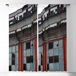 Bethlehem Steel plant windows in color Blackout Curtain