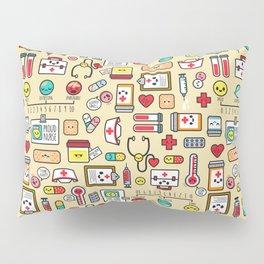 """Proud To Be A Nurse"" Pattern Pillow Sham"