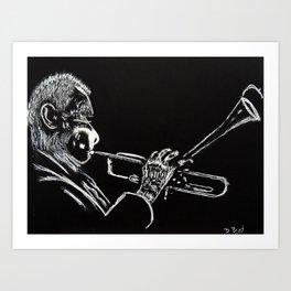 Dizzy Be Bop Art Print