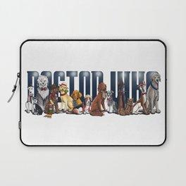Doctor Who FanArt Dogs Laptop Sleeve