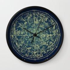 Zodiac Star Map Wall Clock