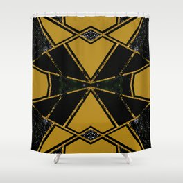 Abstract #775 Shower Curtain