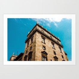 Valencian Architecture Art Print