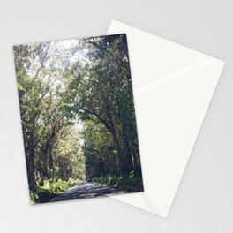 Tunnel of Trees - Color - Kauai, Hawaii Stationery Cards
