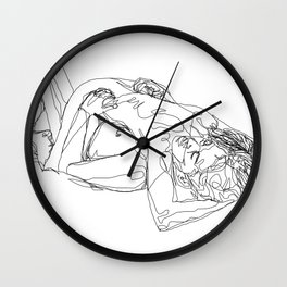 Let's stay like this Wall Clock