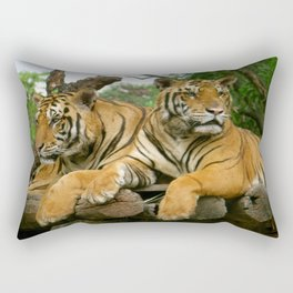 hai der tiger Rectangular Pillow