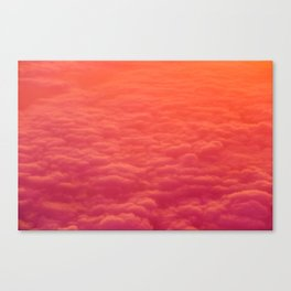 The Pink Clouds (Color) Canvas Print