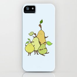 Pear Shapes iPhone Case