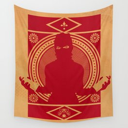 RED VANDALIZM Wall Tapestry