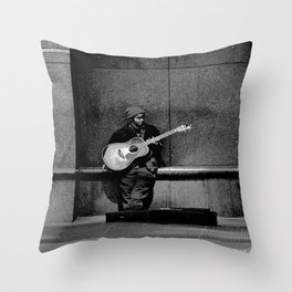 Liberty Avenue Idol Throw Pillow