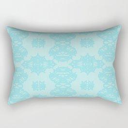 Blue Pattern 1 Rectangular Pillow