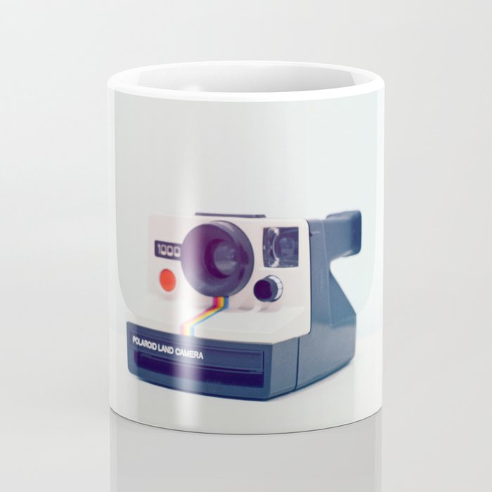 Polaroid Rainbow Land Camera Coffee Mug
