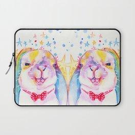 Rainbow Bunny Laptop Sleeve