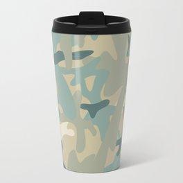 Camouflage military background Travel Mug