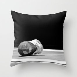 Fencing #02 Throw Pillow