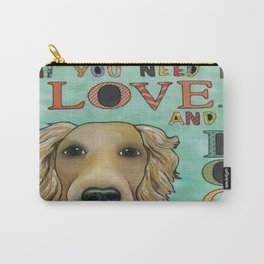 Love Dog Carry-All Pouch