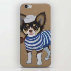 Chihuahua - Sailor Chihuahua iPhone & iPod Skin