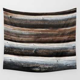 Detail: Loghouse Wall Tapestry