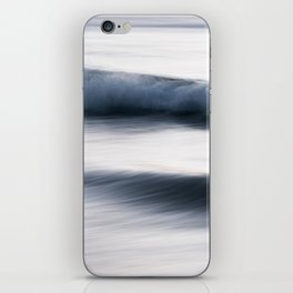 The Uniqueness of Waves XIII iPhone Skin