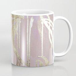 Gold Drips Coffee Mug