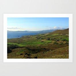 Along The Kerry Way, Ireland Art Print