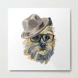 Cairn Terrier, terrier mom Metal Print