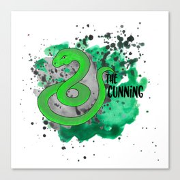 The Cunning Snake Canvas Print
