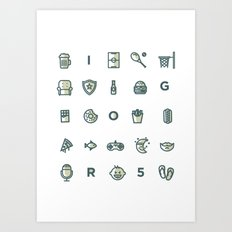 Igor Shirt Art Print
