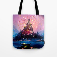 I see the lights Tote Bag