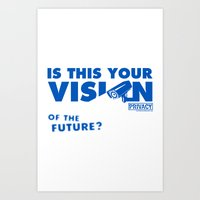 Is this Your Vision of the Future? Art Print