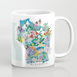 Wisconsin Wildflowers Coffee Mug