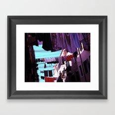 Hanging Laundry pt1 Framed Art Print