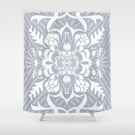 The Garden Is Abloom Shower Curtain