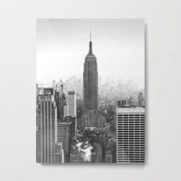 New York, Empire State Building Metal Print