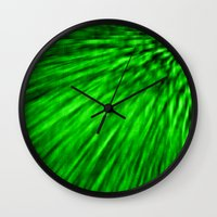 emerald Wall Clocks featuring Emerald by SimplyChic
