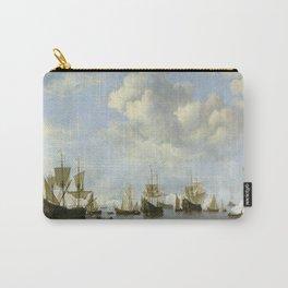 Willem Van De Velde Ii - The Dutch Fleet In The Goeree Roads. Carry-All Pouch