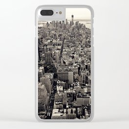 the city Clear iPhone Case