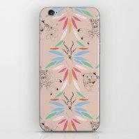 safari iPhone & iPod Skins featuring Safari by Laura Braisher