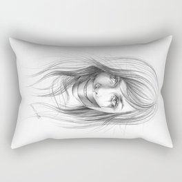 Keep smiling for me Rectangular Pillow
