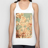 happy Tank Tops featuring Pink by Olivia Joy StClaire