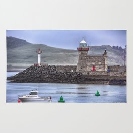 Howth Harbour 2 Rug