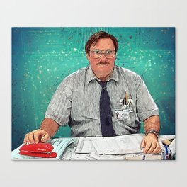 Milton - Office Space Canvas Print