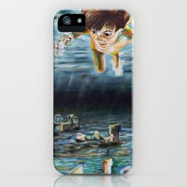 Young Knowledge iPhone Case