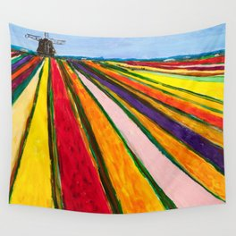 The Colors of Amsterdam Wall Tapestry