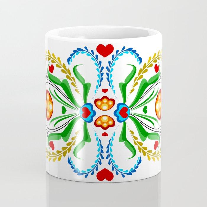 Scandinavian Folk Art ~ Tulip Coffee Mug